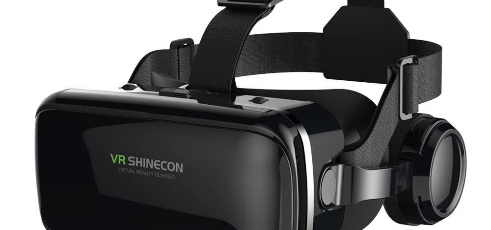 VR Headset with   Headphones
